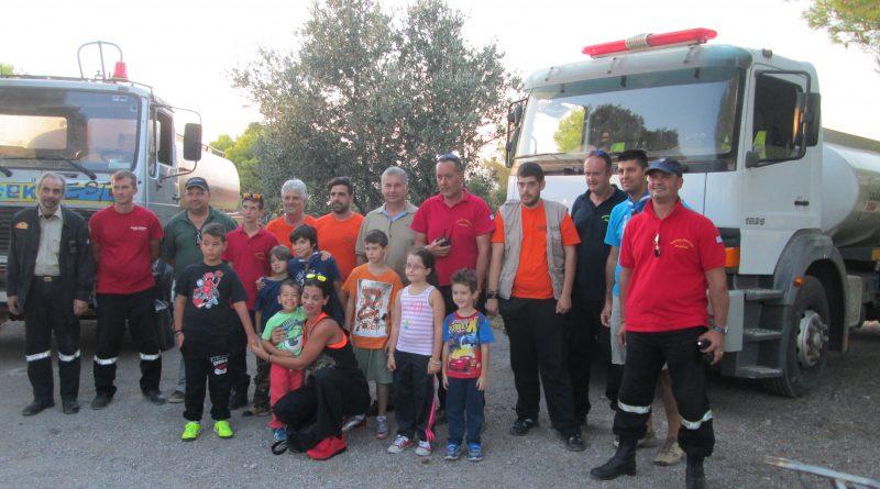 O ΣΠΑΠ συμμετείχε στο 2ο Εθελοντικό Πότισμα του Δήμου Βριλησσίων στο Δάσος Αγίου Θεοκλήτου