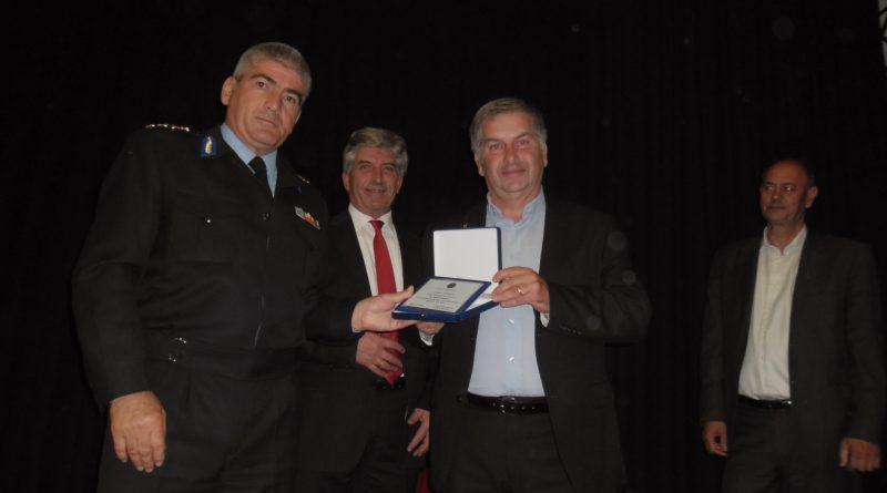Η Περιφέρεια Ανατολικής Αττικής και ο Δήμος Κρωπίας τίμησαν τον ΣΠΑΠ σε Εκδήλωση Λήξης & Απολογισμού της Αντιπυρικής Περιόδου 2015