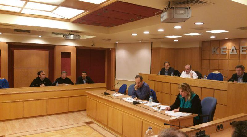 Στην έκτακτη συνεδρίαση της Επιτροπής Αγροτικής Ανάπτυξης της ΚΕΔΕ συμμετείχε ο Πρόεδρος του Σ.Π.Α.Π