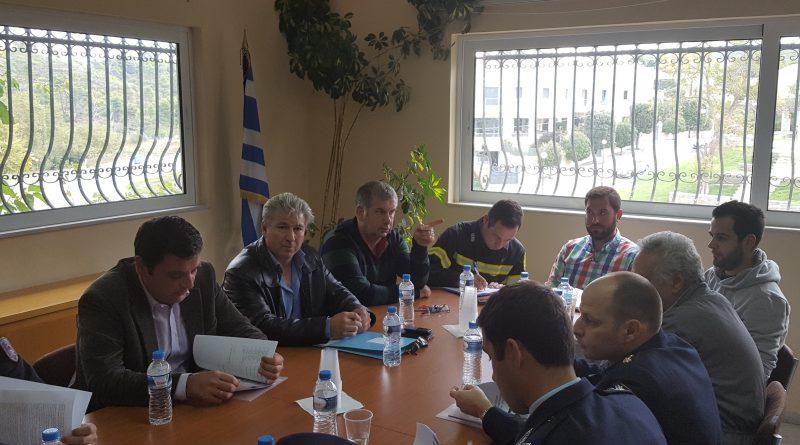 O ΣΠΑΠ συμμετείχε στην Σύσκεψη του Συντονιστικού Τοπικού Οργάνου Διονύσου για την προετοιμασία της χειμερινής περιόδου