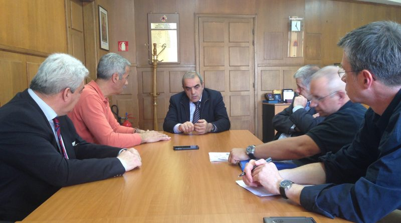 Συνάντηση με το Γενικό Γραμματέα Πολιτικής Προστασίας είχαν οι Πρόεδροι του Σ.Π.Α.Π. και του ΠΕ.ΣΥ.Δ.Α.Π.