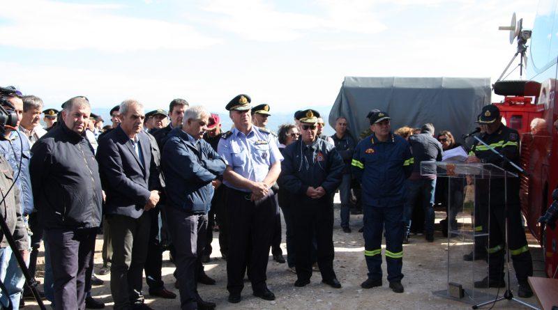 O Σ.Π.Α.Π. συμμετείχε με Διοίκηση, εθελοντές και υδροφόρο όχημα στην Άσκηση πεδίου «Δια Πυρός 2017» που διοργάνωσε το Πυροσβεστικό Σώμα στο Πεντελικό