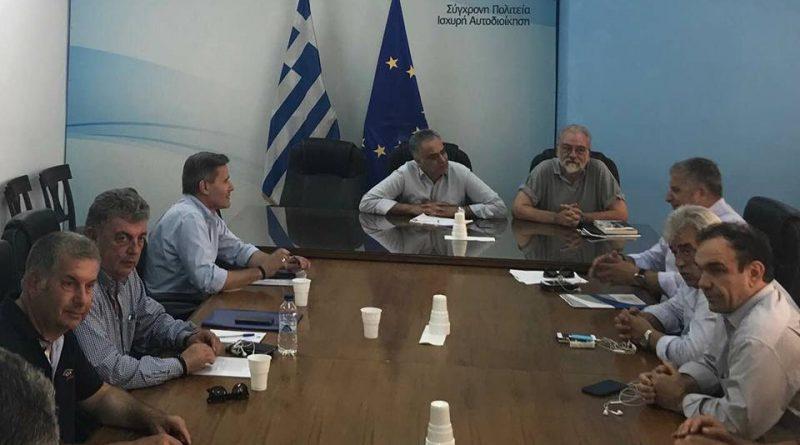 Ο Πρόεδρος του ΣΠΑΠ και Γενικός Γραμματέας του Εποπτικού Συμβουλίου της ΚΕΔΕ Βλάσσης Σιώμος συμμετείχε στη συνάντηση Αντιπροσωπείας της ΚΕΔΕ με τον Υπουργό Εσωτερικών για την επίλυση του ζητήματος των συμβασιούχων καθαριότητας στους Δήμους