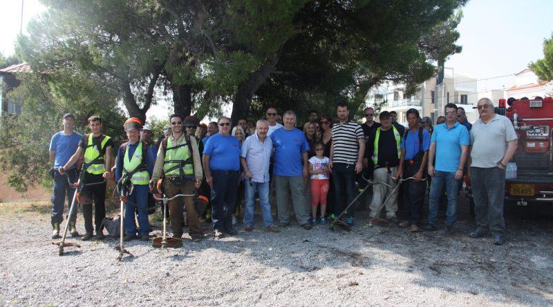 Συμμετοχή του ΣΠΑΠ στον εθελοντικό καθαρισμό του Δάσους Θεοκλήτου