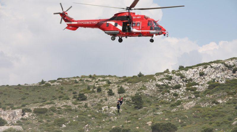 O Σ.Π.Α.Π. συμμετείχε με Διοίκηση, εθελοντές και τρία οχήματα στην Άσκηση Δασικής Πυρκαγιάς Μεγάλης Έκτασης  «Δια Πυρός 2018» που διοργάνωσε το Πυροσβεστικό Σώμα στο Πεντελικό