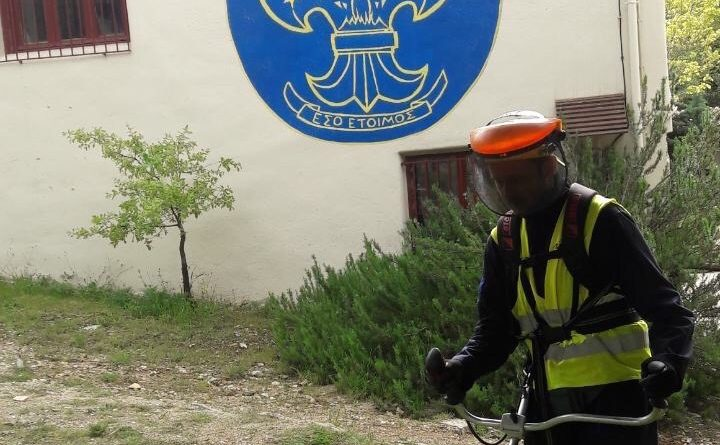 O Σ.Π.Α.Π. υλοποιεί καθαρισμούς, αποψιλώσεις και κλαδέματα σε περιαστικές περιοχές του Δήμου Πεντέλης