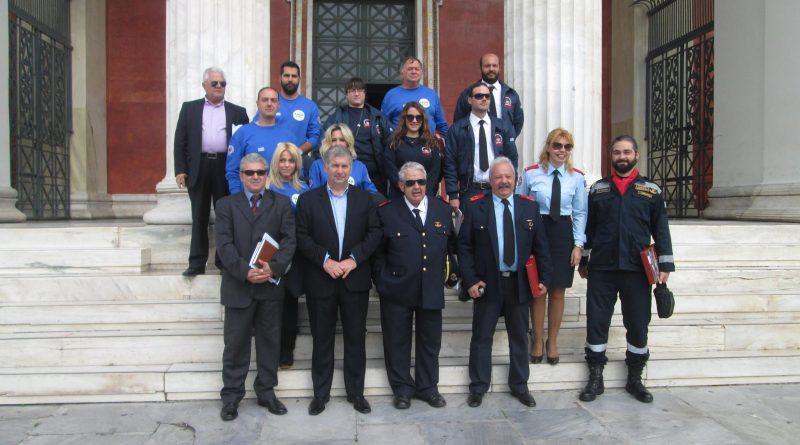 Συλλυπητήρια για την απώλεια του Γιάννη Δαμιανόγλου, Διοικητή του Πυροσβεστικού Σώματος Εθελοντών Νέου Βουτζά-Προβαλίνθου