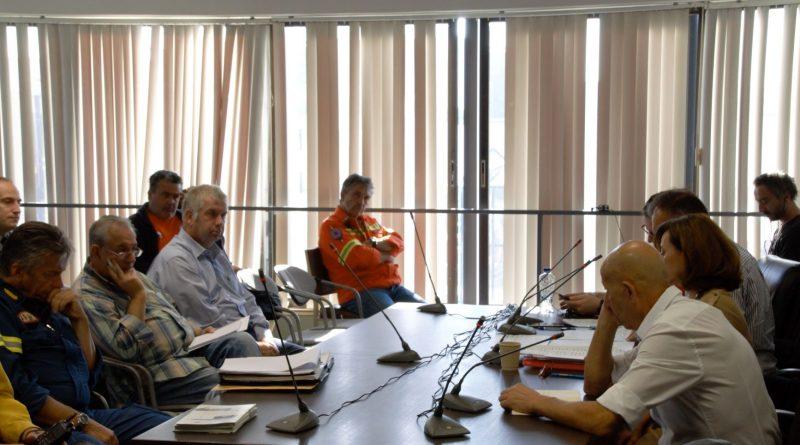 Ο Πρόεδρος του Σ.Π.Α.Π. και Αντιδήμαρχος Πεντέλης Βλάσσης Σιώμος συμμετείχε στην Σύσκεψη του Συντονιστικού Περιφερειακού Οργάνου Πολιτικής Προστασίας Βορείου Τομέα Αθηνών.