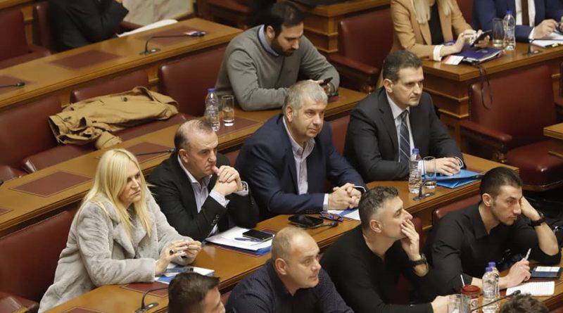 """Ο Πρόεδρος του Σ.Π.Α.Π., Αντιπρόεδρος του Εποπτικού Συμβουλίου και Πρόεδρος της Επιτροπής Πολιτικής Προστασίας της Κ.Ε.Δ.Ε., Βλάσσης Σιώμος στη συνεδρίαση των Αρμόδιων Κοινοβουλευτικών Επιτροπών της Βουλής, με θέμα: """"Εθνικός Μηχανισμός Διαχείρισης Κρίσεων και Αντιμετώπισης Κινδύνων , Αναδιάρθρωση της Γενικής Γραμματείας Πολιτικής Προστασίας , Αναβάθμιση Εθελοντισμού Πολιτικής Προστασίας , Αναδιοργάνωση του Πυροσβεστικού Σώματος και άλλες διατάξεις"""""""