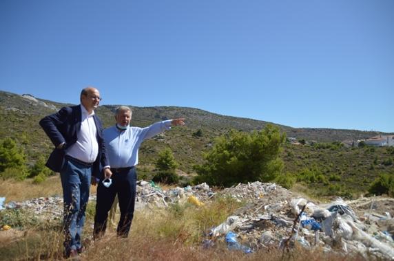 Ο Υπουργός Περιβάλλοντος και Ενέργειας Κωστής Χατζηδάκης επισκέφτηκε το Πεντελικό και το Κέντρο Επιχειρήσεων του Σ.Π.Α.Π.