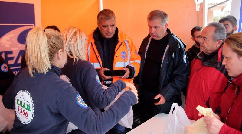Ο ΣΠΑΠ μαζί με την ΚΕΔΕ και τον ΙΣΑ, κοντά στους συμπολίτες μας που επλήγησαν από τις καταστροφικές πλημμύρες
