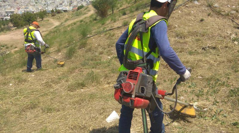 O Σ.Π.Α.Π. ολοκλήρωσε καθαρισμούς περιαστικών περιοχών στους  Δήμους Παλλήνης και Γαλατσίου