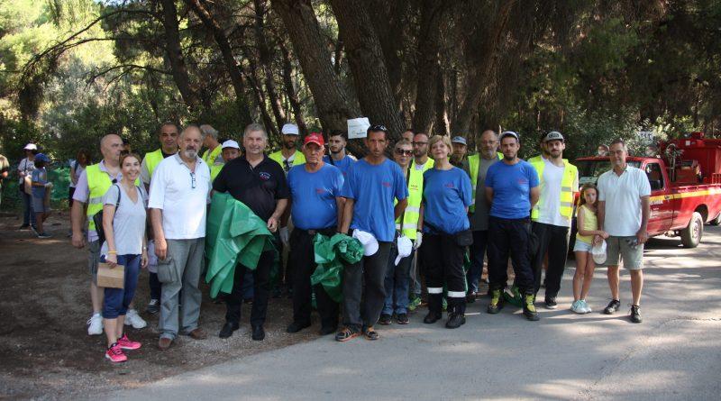 Με επιτυχία ολοκληρώθηκε Δράση Πεζοπορίας και Εθελοντικού Καθαρισμού από τον Σ.Π.Α.Π., το Δήμο Κηφισιάς και το Όλοι Μαζί Μπορούμε και στο Περιβάλλον στο Δάσος Φασίδερη Ν. Ερυθραίας