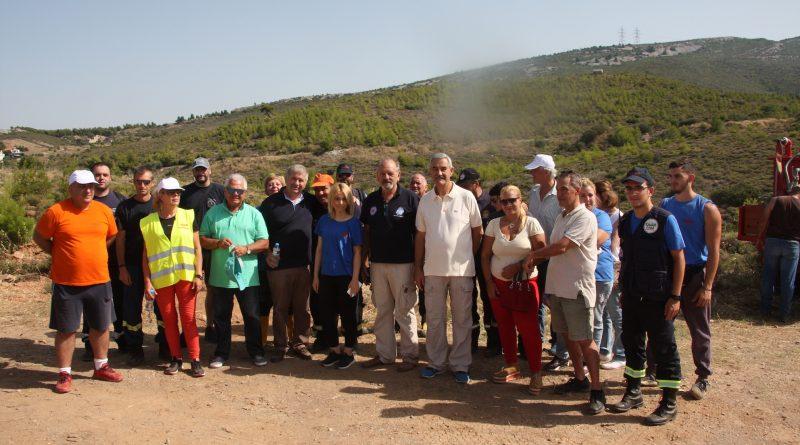 Επιτυχημένο το 1ο Εθελοντικό Πότισμα για το 2018 που διοργάνωσε ο Σ.Π.Α.Π. σε συνεργασία με το Δήμο Κηφισιάς και το Όλοι Μαζί Μπορούμε