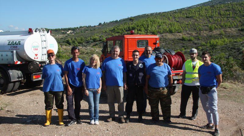 Εθελοντές και εργαζόμενοι του Σ.Π.Α.Π. πραγματοποίησαν το 2ο Εθελοντικό Πότισμα για το 2018 στην περιοχή του Κοκκιναρά