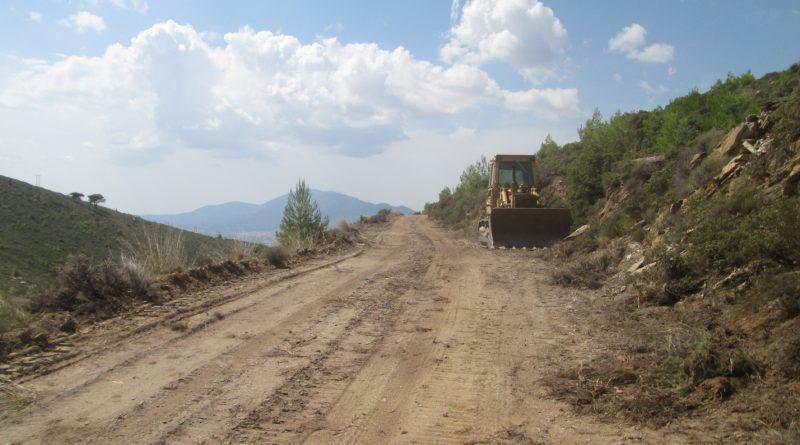 Ο Σ.Π.Α.Π. διευρύνει το πρόγραμμα αποκατάστασης των κατεστραμμένων  δασικών δρόμων στο Πεντελικό