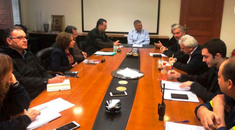 O Πρόεδρος του Σ.Π.Α.Π. Βλάσσης Σιώμος συμμετείχε στην Σύσκεψη του Συντονιστικού Τοπικού Οργάνου Πολιτικής Προστασίας του Δήμου Αμαρουσίου