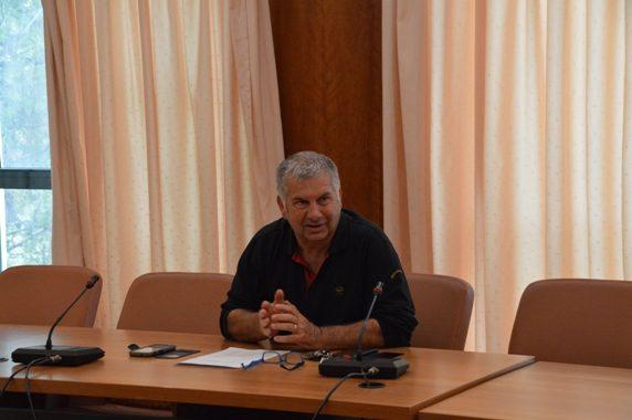 O Πρόεδρος του Σ.Π.Α.Π. και Αντιδήμαρχος Πεντέλης Βλάσσης Σιώμος συμμετείχε στην Σύσκεψη του Συντονιστικού Τοπικού Οργάνου Πολιτικής Προστασίας του Δήμου Λυκόβρυσης – Πεύκης.