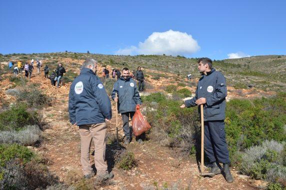 Με επιτυχία πραγματοποιήθηκε  η 2η Εθελοντική Δράση Αναδάσωσης  για το 2020 από τον Σ.Π.Α.Π. και το «Όλοι Μαζί Μπορούμε και στο Περιβάλλον» στη Νταού Πεντέλη.