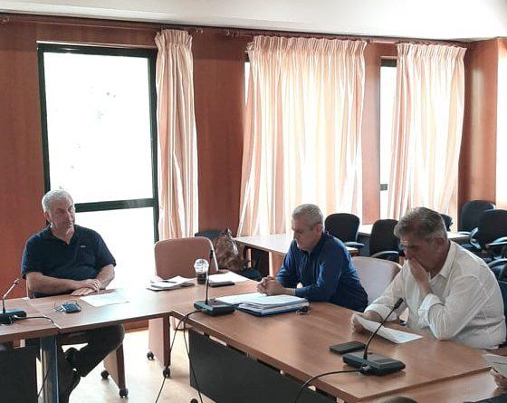 O Πρόεδρος του Σ.Π.Α.Π. , Αντιπρόεδρος του Εποπτικού Συμβουλίου και Πρόεδρος της Επιτροπής Πολιτικής Προστασίας της Κ.Ε.Δ.Ε., Βλάσσης Σιώμος συμμετείχε στην Σύσκεψη του Συντονιστικού Τοπικού Οργάνου Πολιτικής Προστασίας του Δήμου Λυκόβρυσης – Πεύκης.