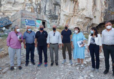 Το Πεντελικό επισκέφθηκαν η Υπουργός Πολιτισμού Λίνα Μενδώνη και ο Υφυπουργός  Περιβάλλοντος Γιώργος Αμυράς.